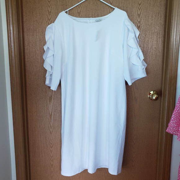 Cato Dresses & Skirts - Cato White Formal Dress NWT